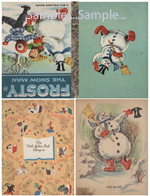 T41 - Mini Frosty the Snowman Books