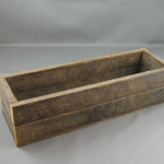 "Wooden Cheese Box - 4"" x 12"""