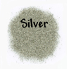 German Glass Glitter - Silver