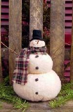 468 - Frosty the Snowman Pattern