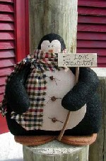 470 - Snowtime Penguin Pattern