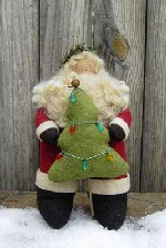495 - Trim-a-Tree Santa Pattern