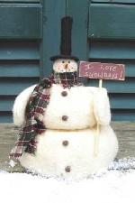 520 - Mr. Snow Days Pattern