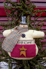555 - Gift Card Ornie Pattern