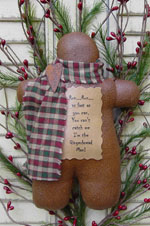 585 - The Gingerbread Man Pattern