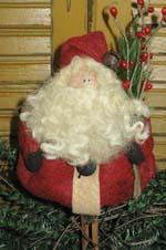 640 - Santa Clothespin Ornie Pattern