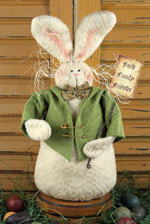 695 - Faithful Friends Bunny Pattern