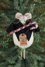 730 - Christmas Mouse Ornie Pattern