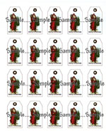 T 1  -  Tiny Santa Hang Tags