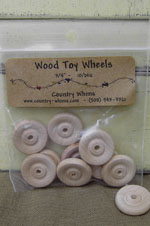 Wood Toy Wheels
