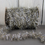 "Vintage Tinsel Garland - ""Antique"" (Gold/Silver Mix)"