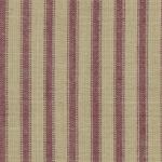Homespun Fabric - A64  (Primitive Burgundy Ticking)