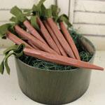 """Wooden Carrot - 4"""""""