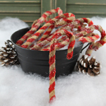Chenille Candy Canes - Small