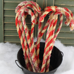 Chenille Candy Canes - Large