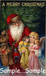 "T40 - ""A Merry Christmas"" Image"