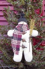 453- Mr. Snow Jingles Pattern