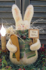 597 - Spring Thyme Bunny Pattern