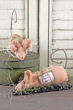 690 - Lucky House Mouse Pattern