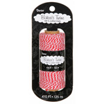 Bakers Twine - Red/White