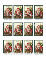 T26 - Vintage Santa Cards
