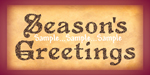 "T46 - ""Season's Greetings"" Signs"