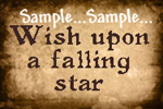 T51 - Wish upon a falling star Sign 2