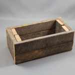 "Wooden Cheese Box - 4"" x 8"""