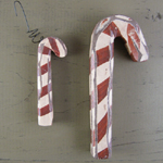 Wooden Candy Canes - Style 1
