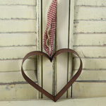 Rusty Cookie Cutter - Heart