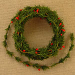 Mini Fir Pine/Berry Roping