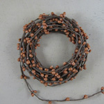 Pip Berry String Garland - Old Gold