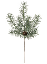 Greenery - Frosted Douglas Pine Pick