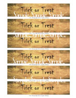 "T34 - ""Trick or Treat"" Ghost Banner"