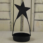 Tealight Candle Holder with Star